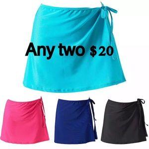 XL/M/S 2 set Swim skirt cover ups